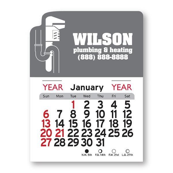 Plumbing Shaped Peel-N-Stick® Calendar