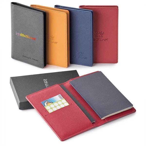 TOSCANO GENUINE LEATHER RFID BOOKLET/  PASSPORT HOLDER