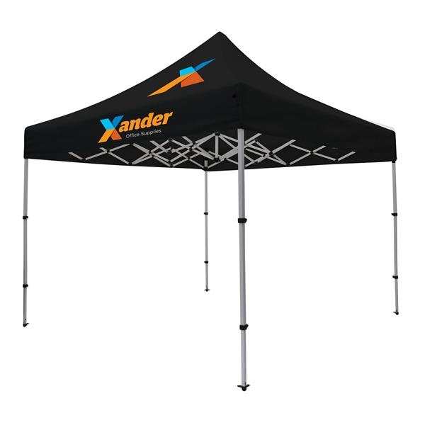 Compact 10' Tent Kit (Full-Color Imprint, 2 Location)