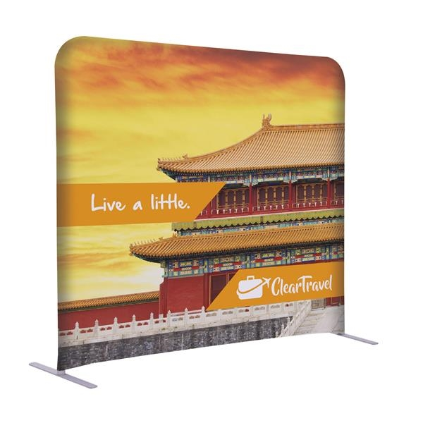 """5'W x 54""""H EuroFit Straight Wall Kit"""