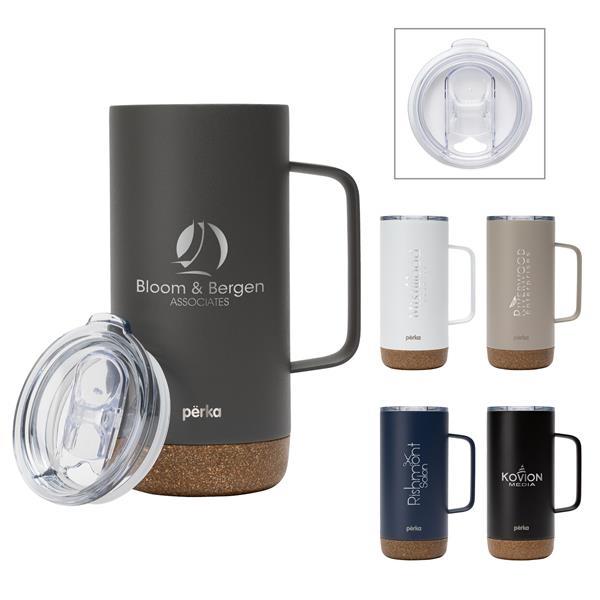 Perka® Kerstin 16 oz. 304 Double Wall Stainless Steel Mug