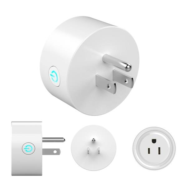 Wifi Smart Plug,Outlet Compatible with Alexa and Google Home