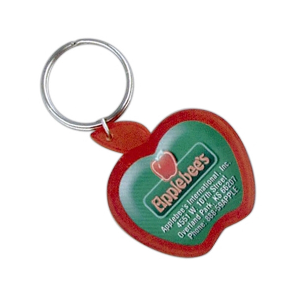 Apple Dome Keychain
