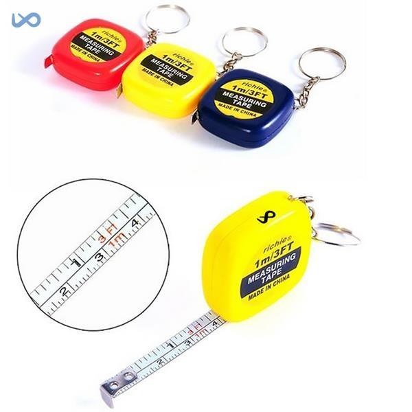 Mini Tape Measure Keychain / Mini Tape Measure with Keychain