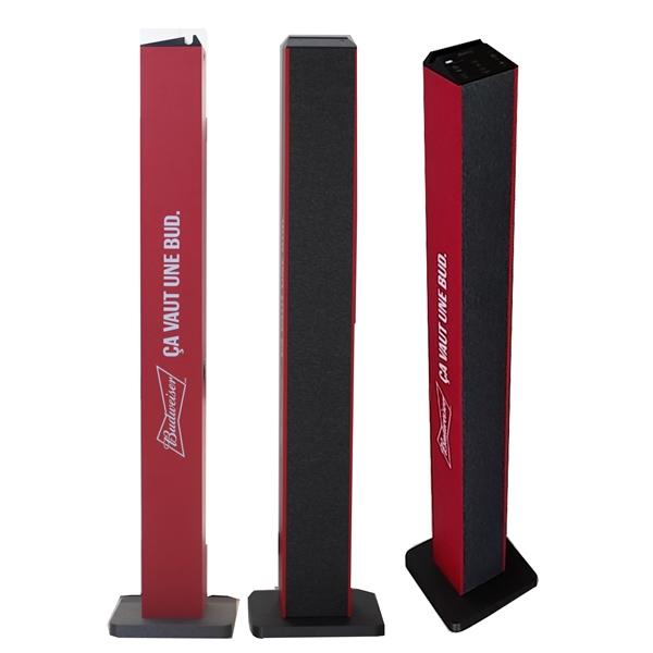 Floor Standing Wireless Bluetooth TWS Tower Speaker,