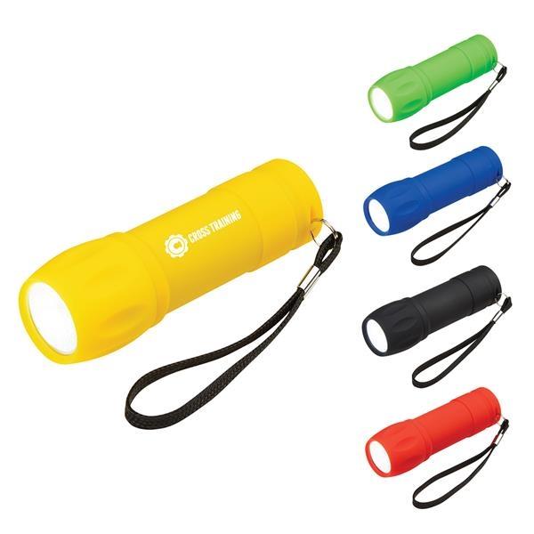 Portable Strapped Rubber COB Light