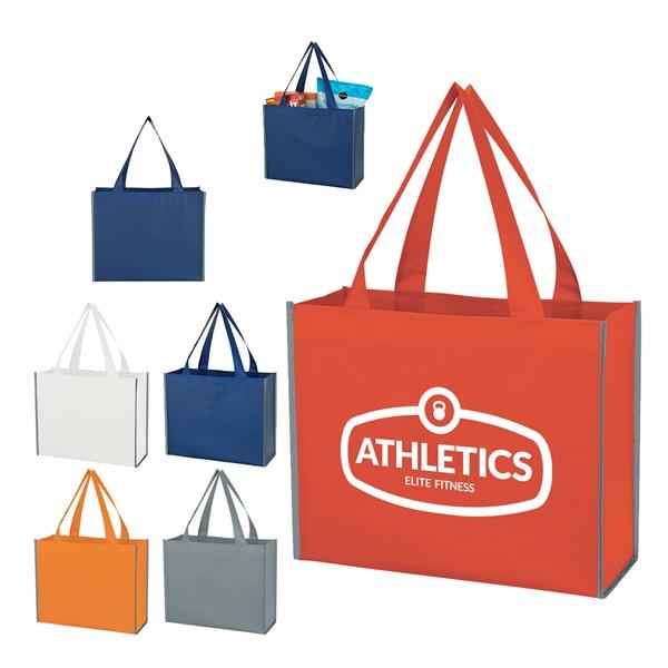 Reusable Non-woven Reflective Shopper Bag
