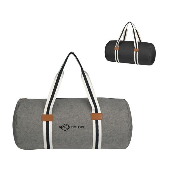Heather Duffel Travel Bag