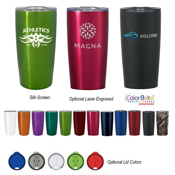 Double Wall Coffee Tumbler With Coffee Pods