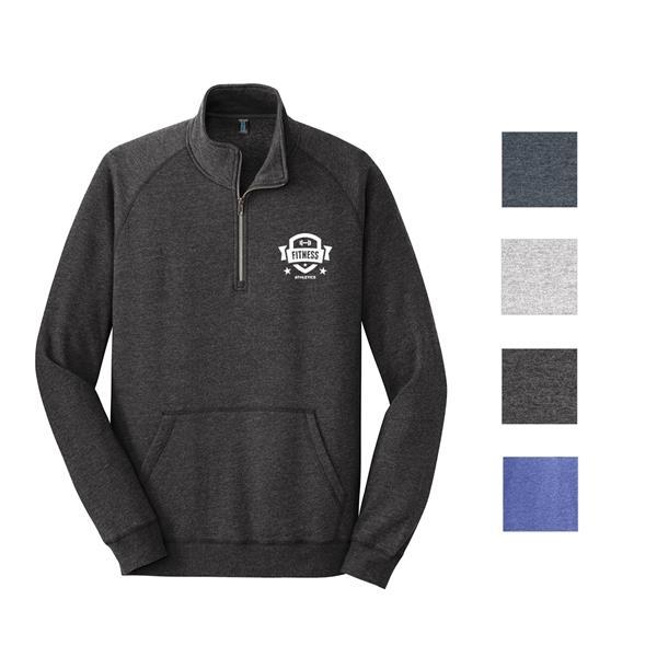 District Made® Quarter-Zipping Fleece Jacket