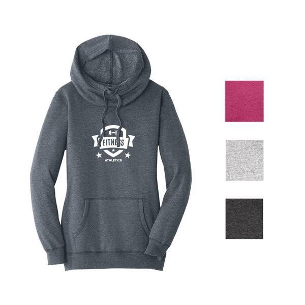 District Made® Women's Fleece Hooded Jac