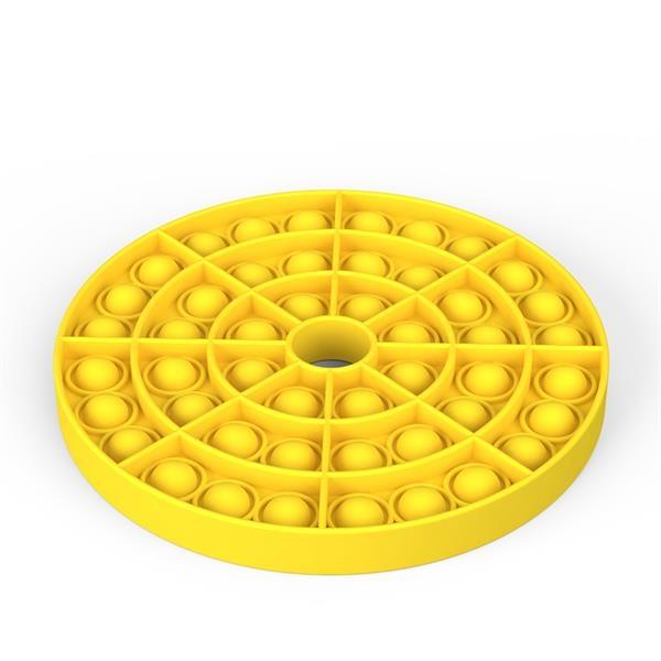 Circle Silicone Anti-pressure Fidget Popper Toys