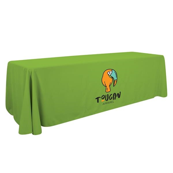 8' Economy Table Throw (Full-color Front Only)