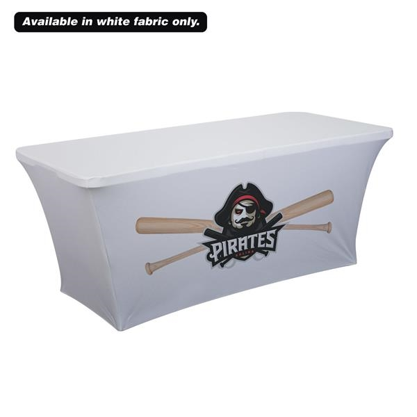 6' UltraFit Classic Table Throw (Full-Color Front Only)