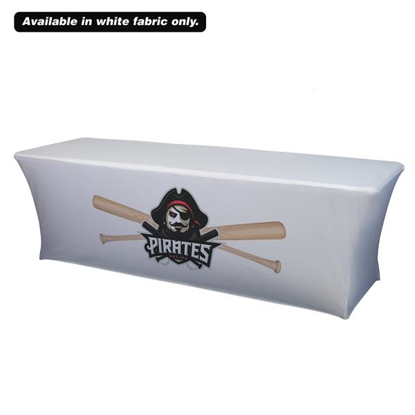 8' UltraFit Classic Table Throw (Full-Color Front Only)
