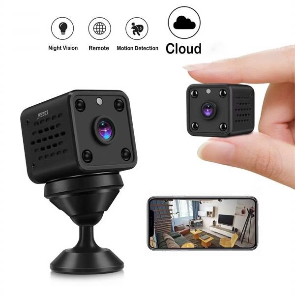 Wireless Smart Home Camera with Night Vision