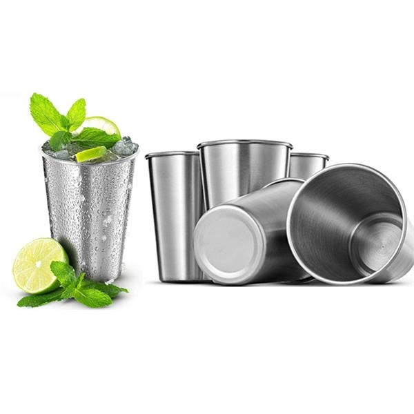 14 OZ Stainless Steel Pint Cups