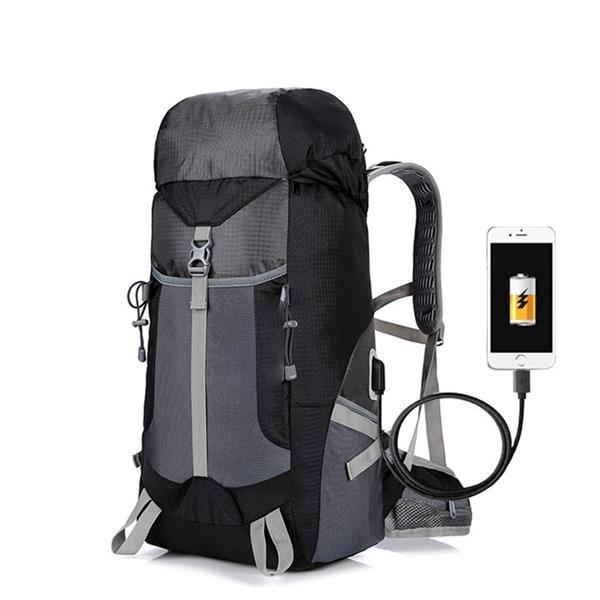 Nylon Waterproof Mountaineering Backpack Camping