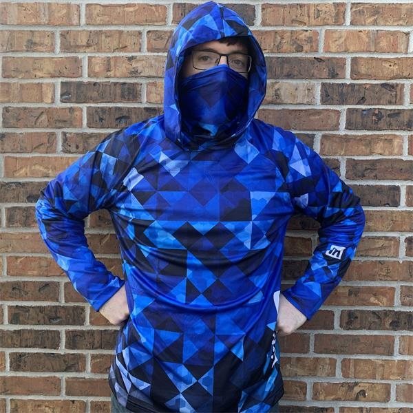 Complete Custom Polyester Hoodie Shirt With Gaiter