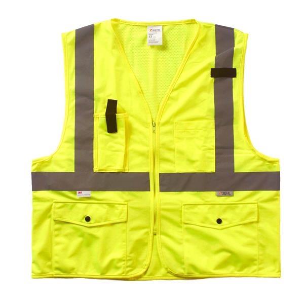Xtreme Visibility Surveyor Class 2 Zip Vest