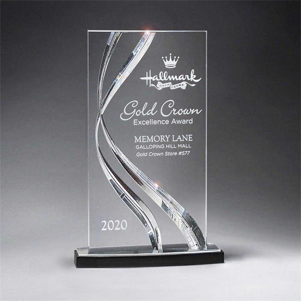 Large Clear Award