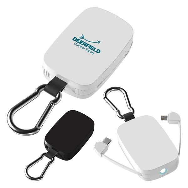 Emergency Power Bank With LED Light