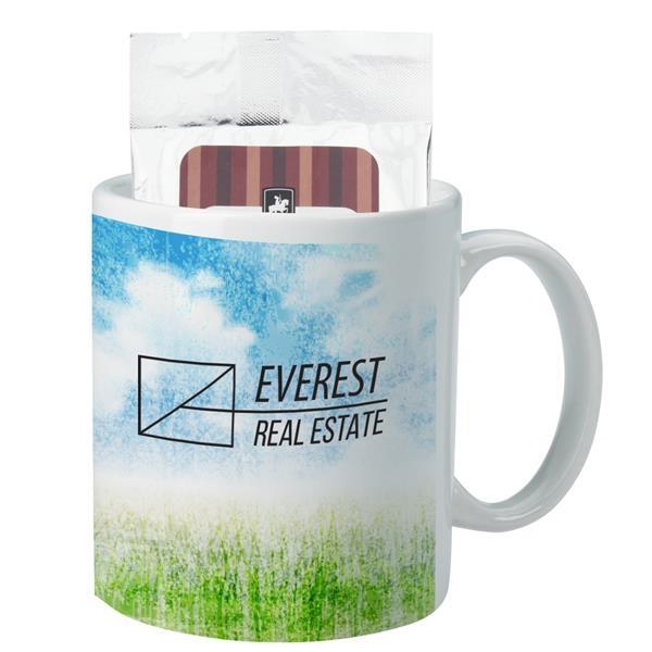 11 Oz. Full Color Mug With Hot Cocoa