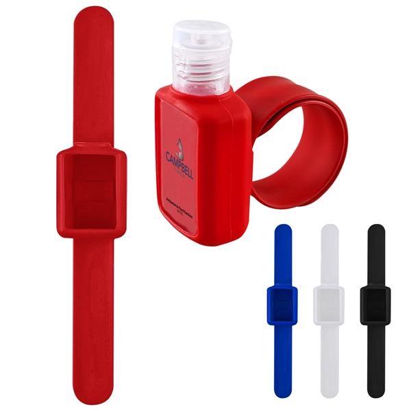 5 Oz. Hand Sanitizer With Slap Wristband
