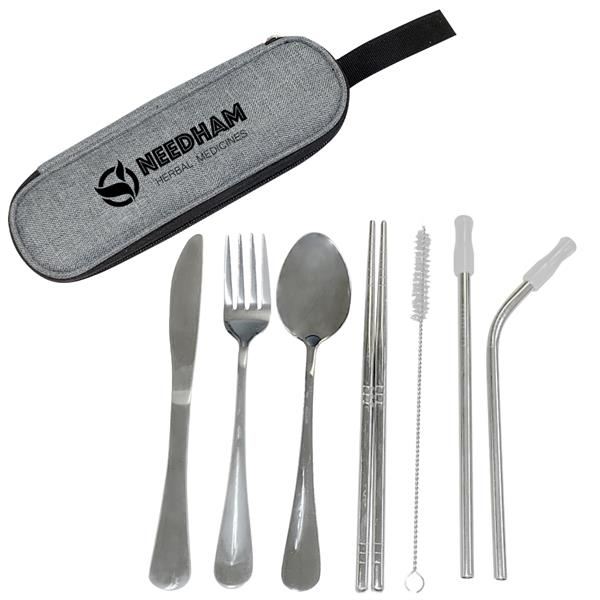 Stainless Steel Cutlery Set In Pouch