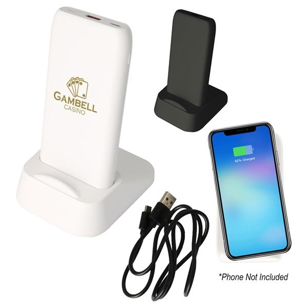 UL Listed Wireless Charging Dock And Power Bank