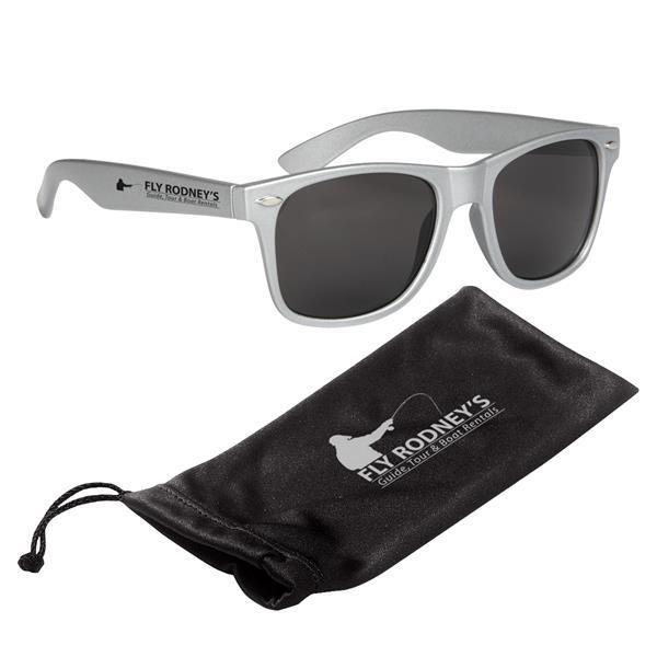 Malibu Sunglasses With Microfiber Pouch