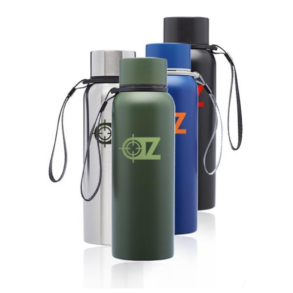 17 oz. Water Bottles with Strap