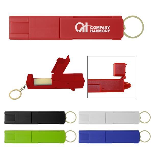 Sanitary Door Opener Touch Tool Keychain