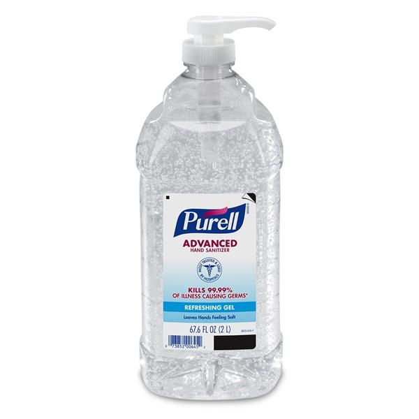 2 Liter Purell Bottle With Pump