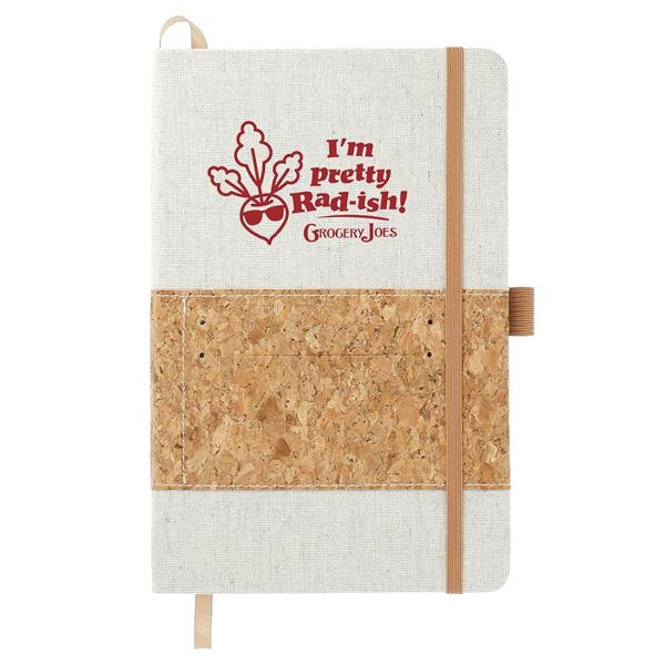 """5.5"""" x 8.5"""" Recycled Cotton and Cork Bou"""
