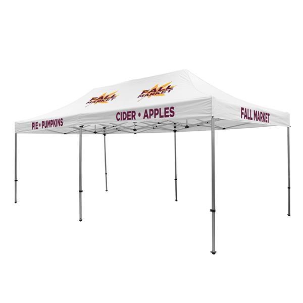 20' Premium Tent Kit (Imprinted, 5 Locations)