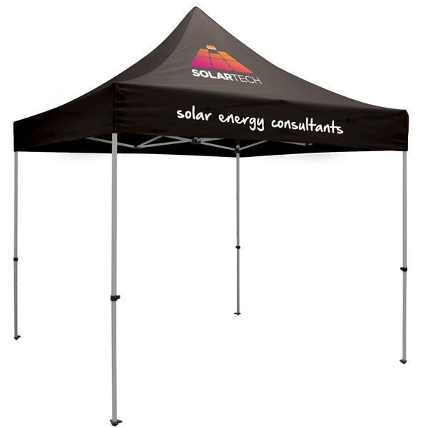 10' Premium Tent Kit (Imprinted, 2 Locations)