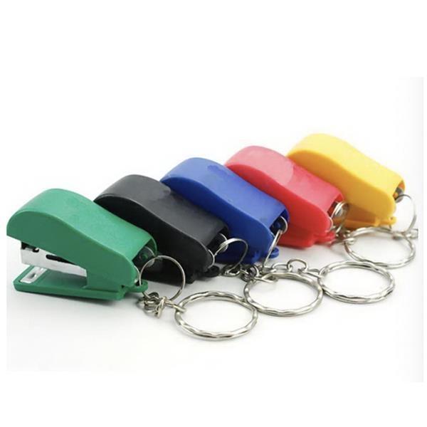 Mini custom stapler with key chain