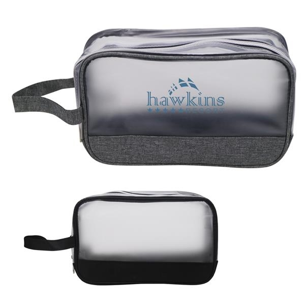 Heathered Frost Toiletry Bag