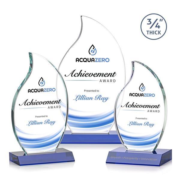 Croydon VividPrint™ Flame Award - Blue
