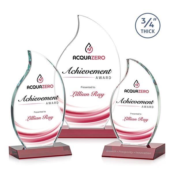 Croydon VividPrint™ Flame Award - Red