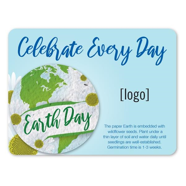 Earth Day Seed Paper Pin Mini Gift Pack