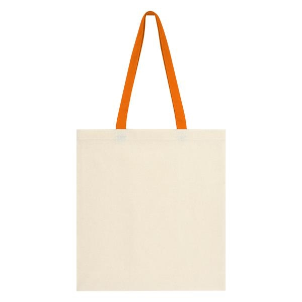 Penny Wise Cotton Canvas Tote Bag