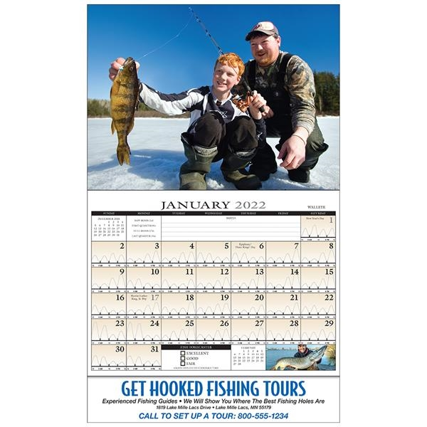 Fishing Guide (Monthly Fishing Activity Forecast)