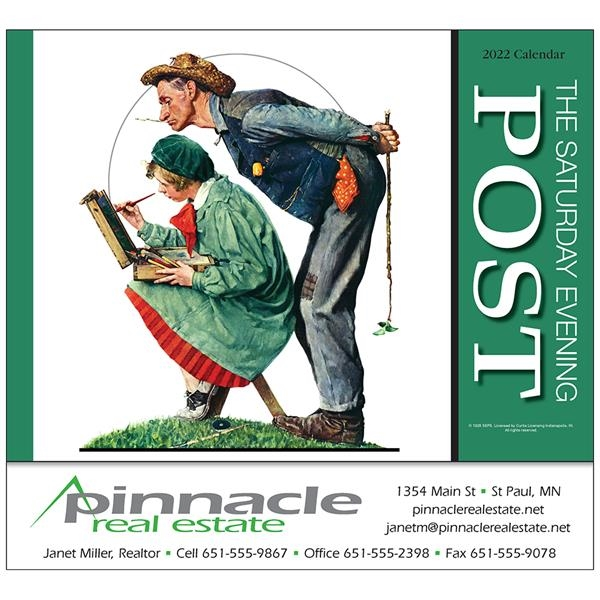 Saturday Evening Post Appointment Calendar