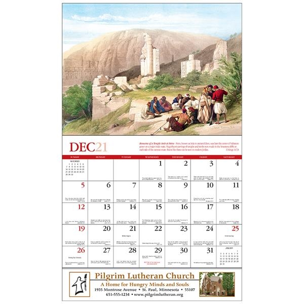 Art of the Holy Land Non-Denominational Appointment Calendar