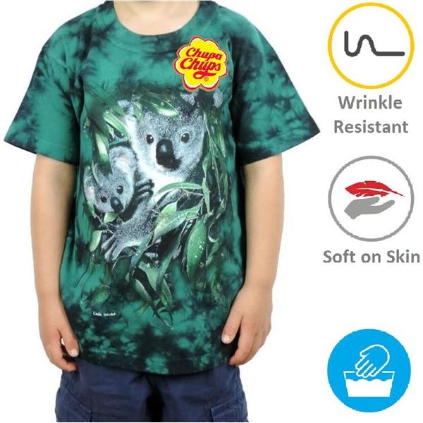 Kids Round Neck T-Shirts w/ Edge to Edge Sublimation Tshirts