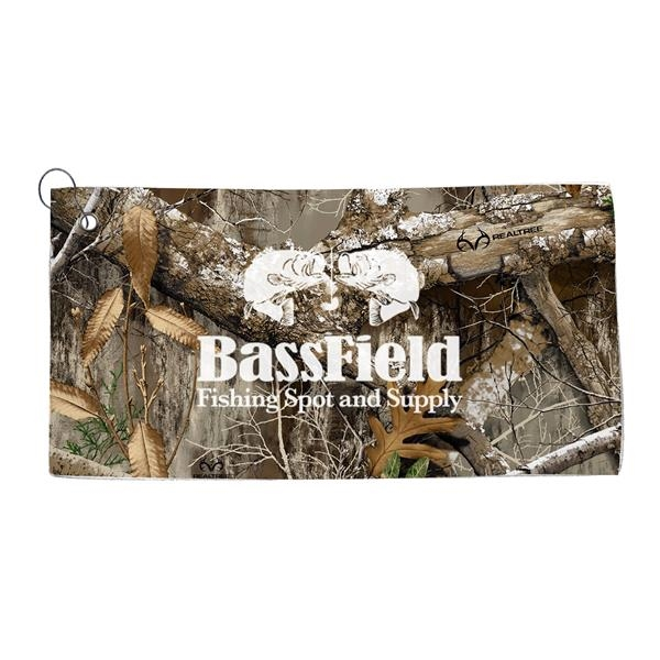 Realtree Dye Sublimated Golf Towel