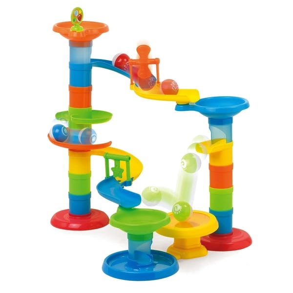 Roll And Pop Tower Game
