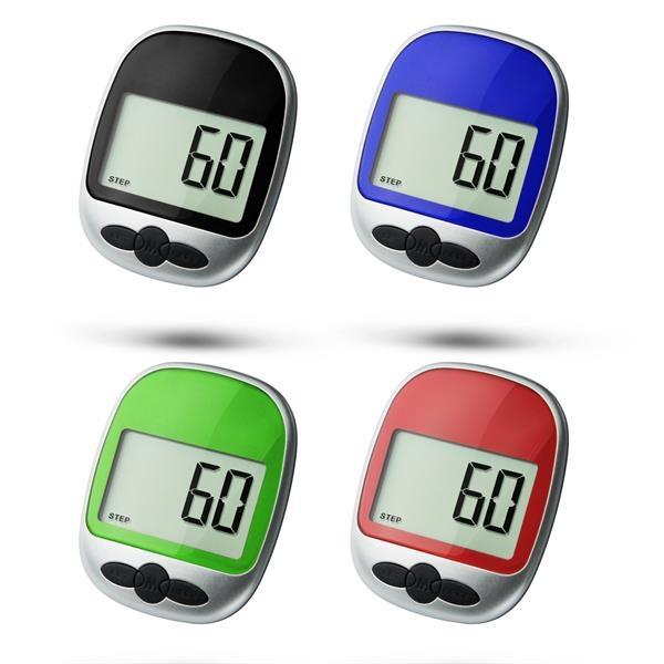 LCD Step Movement Calories Pedometer
